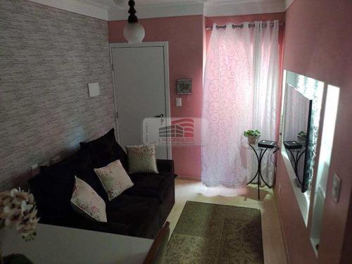 Imagem 1 de 10 de Apartamento Com 2 Dorms, Demarchi, São Bernardo Do Campo - R$ 220 Mil, Cod: 1880 - V1880