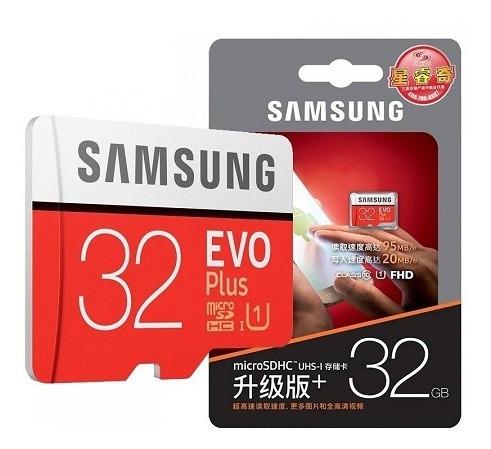 Cartão De Memória Original Samsung Micro Usd Uhs-1 32gb U1