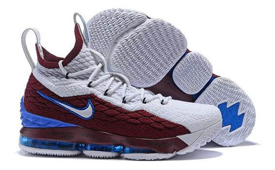 Tenis Nike Lebron 15 Basquete Varias Cores Frete Gratis