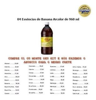 04 Essências-960ml Banana Arcolor