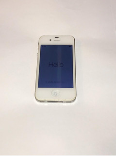 iPhone 4s Branco 8gb + Acessórios