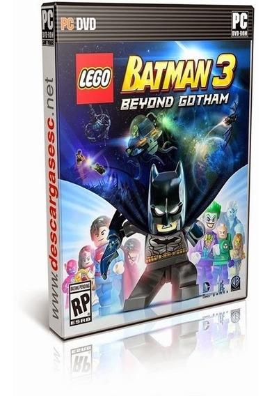 Lego Batman 3 Beyond Gotham Pc Midia Fisica Portugues