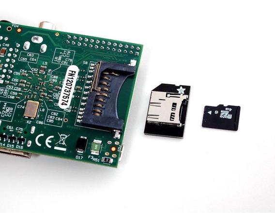 Adaptador Tf Card, Microsd Para Raspberry 1 B