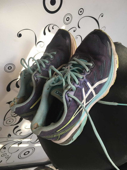 Zapatillas Hombre Mujer Nro 7.5 Asics $1000