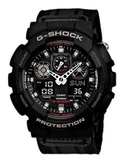 Relógio Casio G-shock Ga100mc1adr - Revenda Autorizada