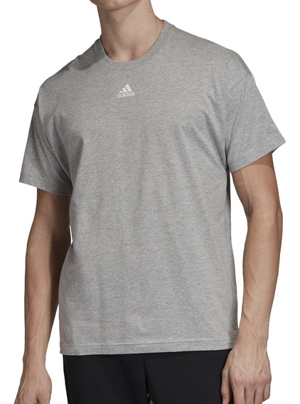 Remera adidas Training Must Haves Hombre Grm/bl