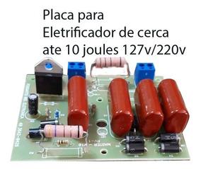 Placa Para Eletricador De Cerca Até 150 Ht 127v/220v 6 Un