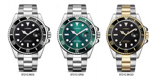 Reloj Sinobi Nb9721g Rolex Style Sport Calidad Elegancia