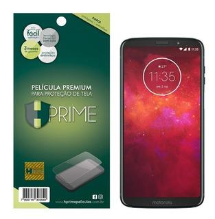 Película Hprime Motorola Moto Z3 Play - Invisível Ou Fosca