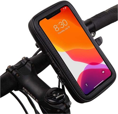 Estuche Soporte Celular Bicicleta Auto Moto Resistente Viaje