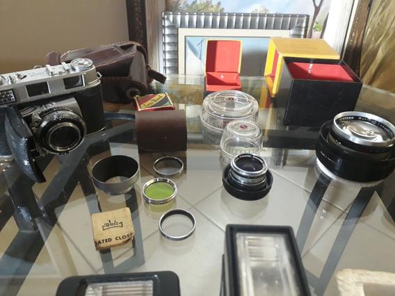 Kodak Retina Iii C Completa Colecionador!