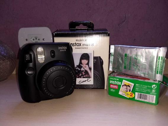 Câmera Instantânea Fujifilm Instax Mini 8 + Packs Filmes