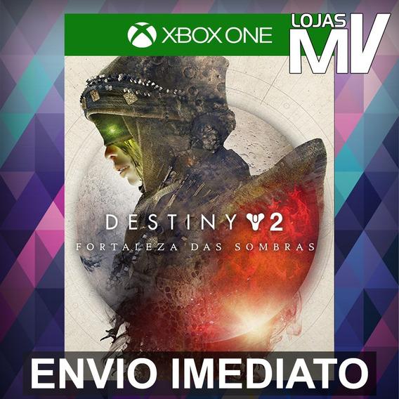 Destiny 2 Fortaleza Das Sombras Xbox One Código 25 Dígitos
