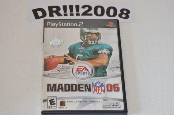 Madden Nfl 06 Original Para Playstation 2!!!
