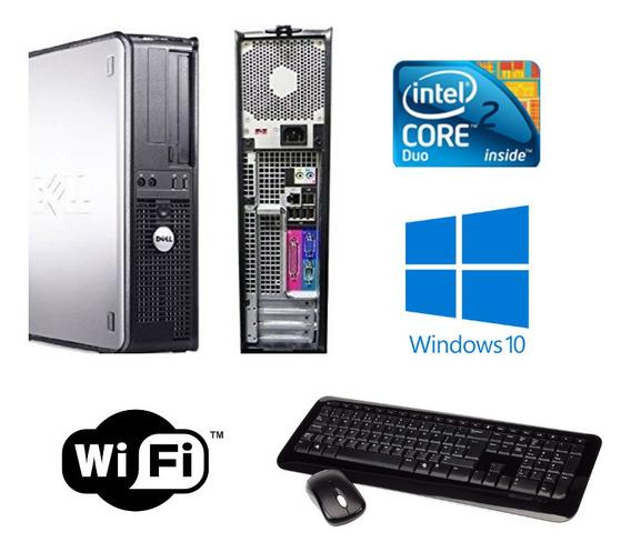 Cpu Dell Core 2 Duo 8gb Hd320 Windows 10 + Frete Grátis!