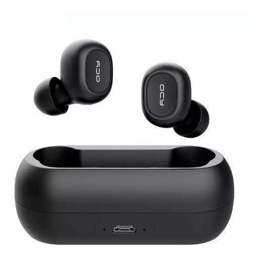 Fone Qcy T1c Bluetooth 5.0 + Case Carregador Nf Frete Grátis