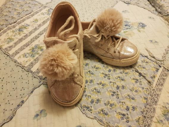 Remato Zapatillas Lindas Para Niña - Zara