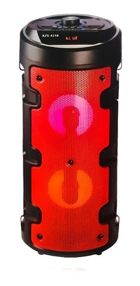 Caixa De Som Bluetooth Torre Hi-fi Tws Microfone Controle