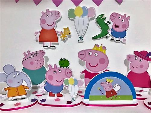 Kit Festa Com 10 Pecas Peppa Pig Mercado Livre