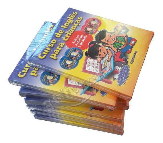 Kit 9 Inglês Para Crianças 1 Livro + Dic + 4 Cds Atualizado