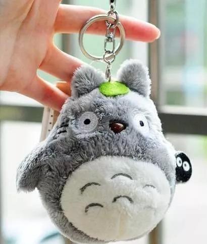 Chaveiro Pelúcia Totoro Super Fofo 11cm Mochila Presente