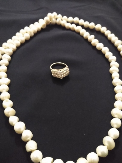 Anillo 14 K Oro Amarillo 44 Diamantes Femenino