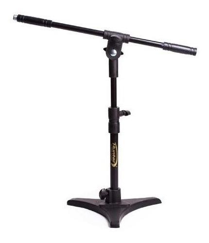 Pedestal Microfone Minigirafa Torelli Hpm 55 Pés Ferro Loja