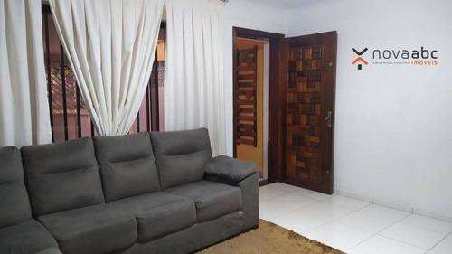 Imagem 1 de 25 de Sobrado Com 2 Dormitórios À Venda, 124 M² Por R$ 460.000,00 - Vila Homero Thon - Santo André/sp - So0967