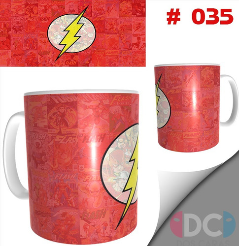 Taza Comics Coleccionables Barry Allenflash #035