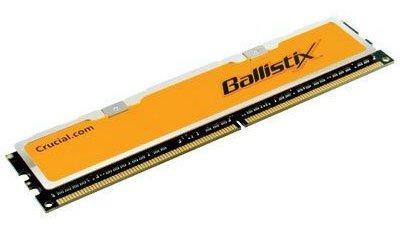 Memoria Ram 1gb Crucial Technology Bl12864aa80a ballistix 240-pin Dimm4-4-4-12 Unbuffered Non-ecc Ddr2-800 2.0v 128m