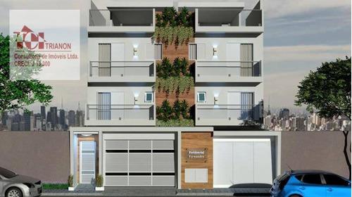 Imagem 1 de 17 de Apartamento Com 2 Dormitórios À Venda, 83 M² Por R$ 504.293,00 - Jardim Bela Vista - Santo André/sp - Ap2677