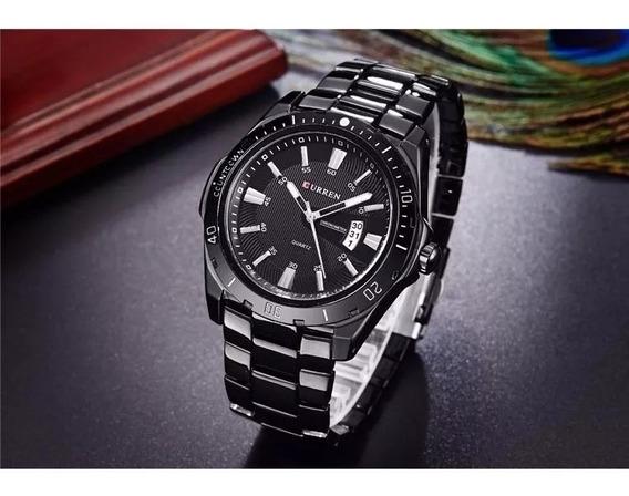 Relógio Luxo Quartzo Estilo Militar Curren Mergulho 30m