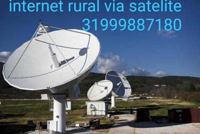 Internet Rural Via Satelite