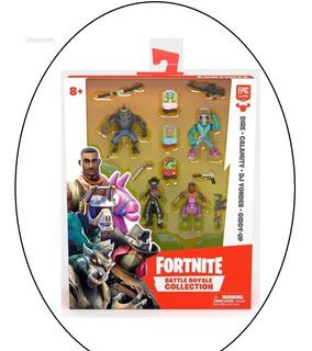 Fortnite Battle Royale Collection 4 Piezas Minis Oferta Unic