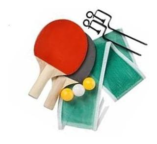 Set Ping Pong + Set Manoplas Tejo + 10 Discos De Tejo Envios