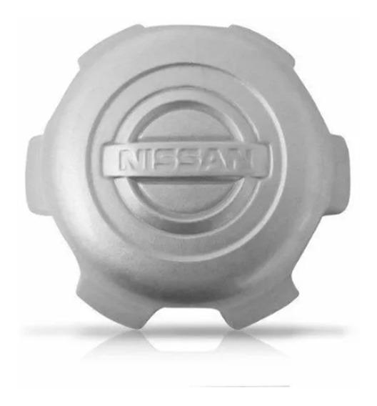 Calota Miolo Roda Nissan Frontier Xterra 4x2 - Prata
