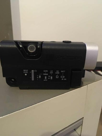 Câmera Zoom Q4+ 2 Baterias +cartão 32gb.