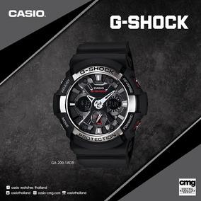 Relógio Casio G-shock Ga-200-1adr - Preto C/estojo Original