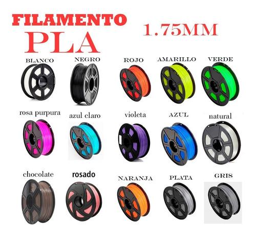 Filamento Pla 1.75mm Para Impresora 3d 1kg