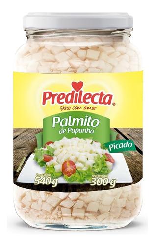 Palmito De Pupunha Picado 300g Vidro Predilecta
