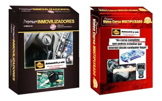 Manual Inmovilizadores De Computadores Automotrices Pack 4x1