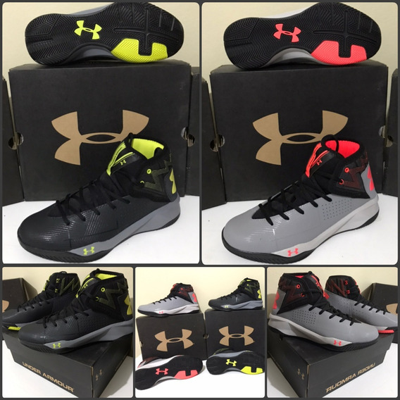 Tênis Basqueteira Under Armour Rocket 2 Novo Tam. 39 Ao 42