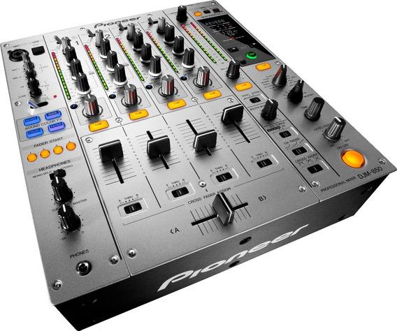 Mixer Pioneer Djm 850s Prata + Nf + 1 Ano De Garantia