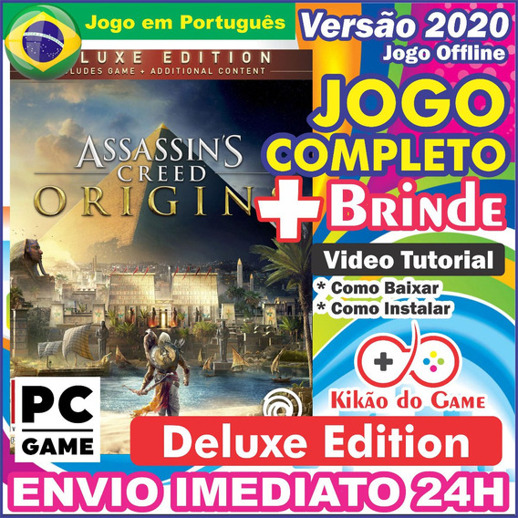 Assassins Creed Origins Deluxe Edit. Pc Digital/br + Brinde