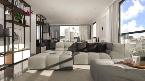 Apartamento À Venda, 125 M² Por R$ 837.250,20 - Meia Praia - Itapema/sc - Ap1630