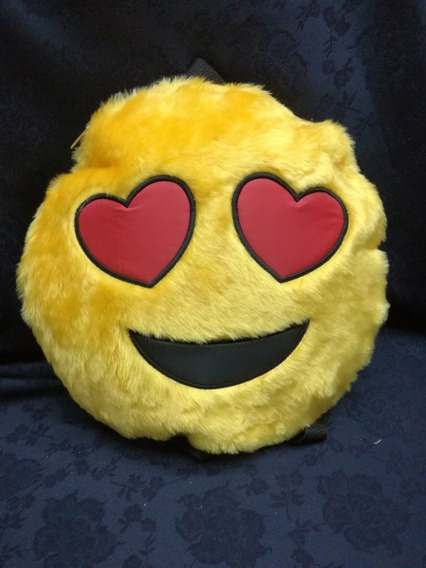 Mochila Peluche Emoticon