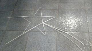 Estrella De Navidad En Hierro (cabilla). Precio Por Unidad