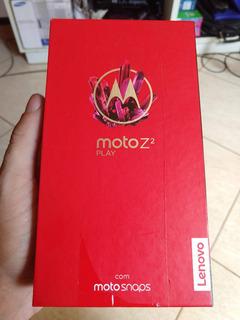 Caixinha Moto Z2 Play Completa Perfeito Estado Original
