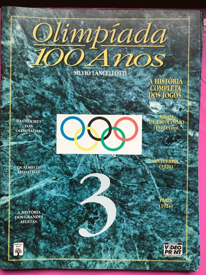 Revista De Olimpíadas 100 Anos Nº 3 + Frete Grátis