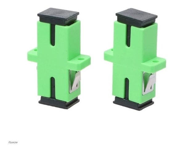 400 Pcs Adaptador De Fibra Óptica Conector Sc Apc Acoplador